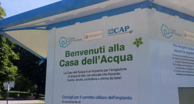 Gruppo Cap: da oggi si possono conoscere i consumi dell'acqua in tempo reale
