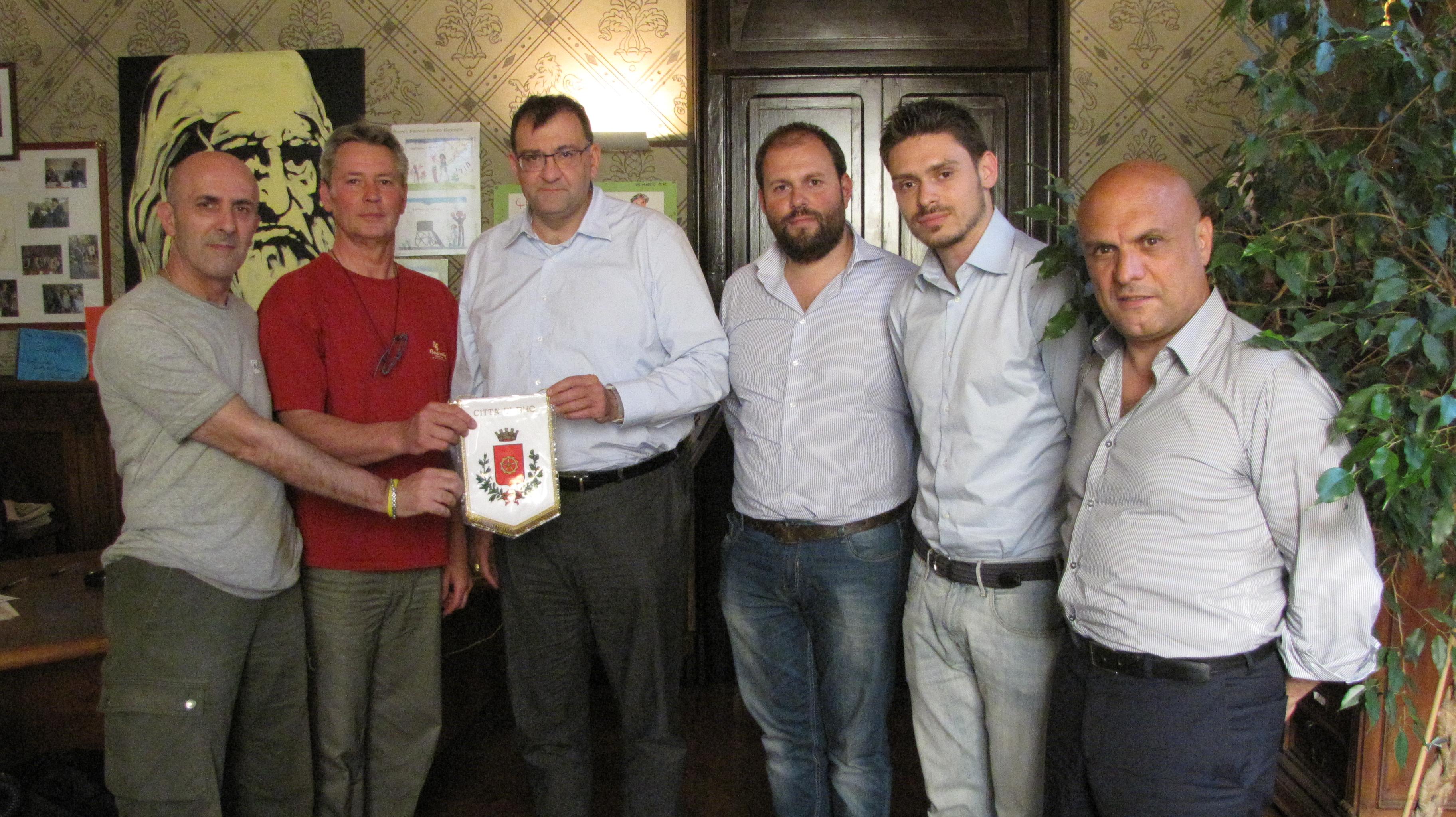 Il Sindaco si complimenta con la Jolly Sport Rho Basket per la Serie D
