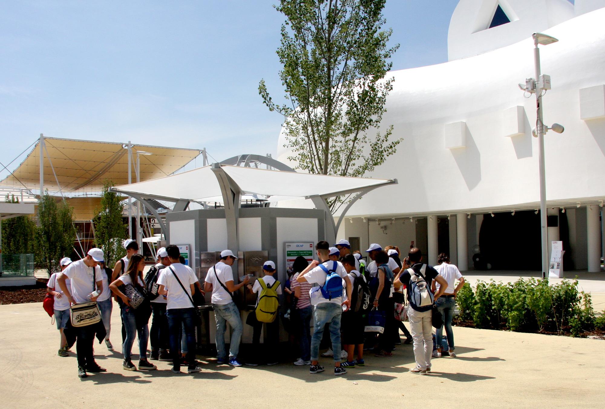 Le case dell'Acqua dissetano Expo!