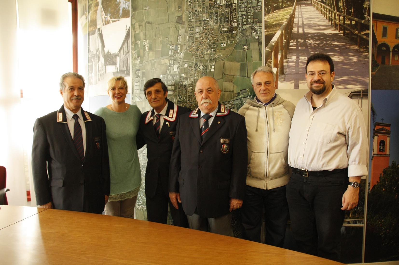 Comune e Associazione Carabinieri in congedo uniti per la Città