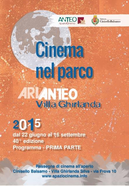 Il Cinema nel parco compie 40 anni