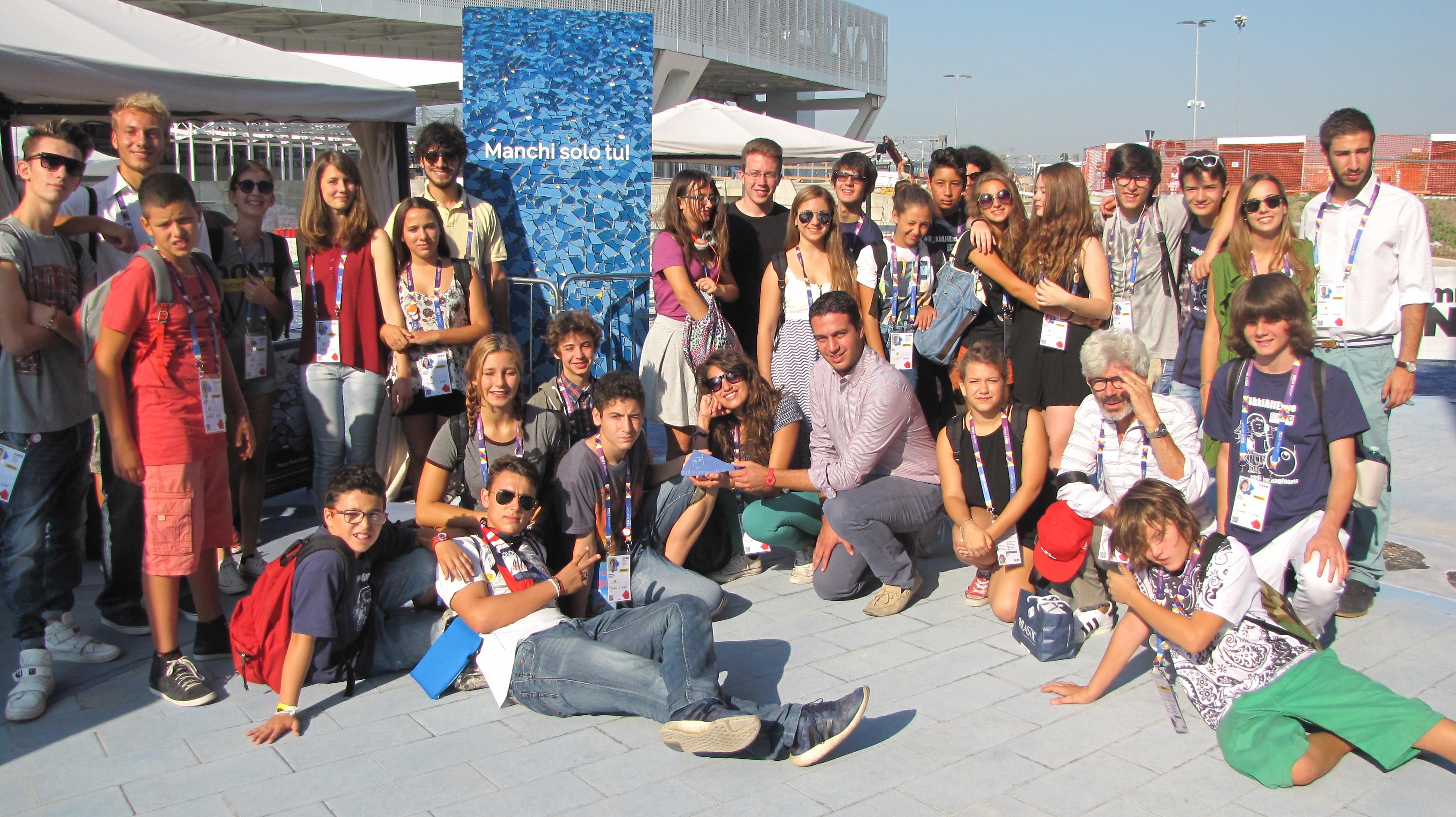Radioimmaginaria a Expo 2015
