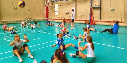 Il Comune porta il Sitting Volley nelle scuole con Volley Segrate
