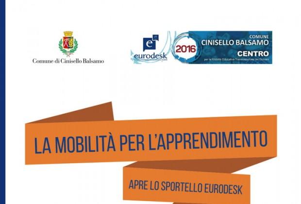 La mobilità per l'apprendimento: apre lo sportello Eurodesk
