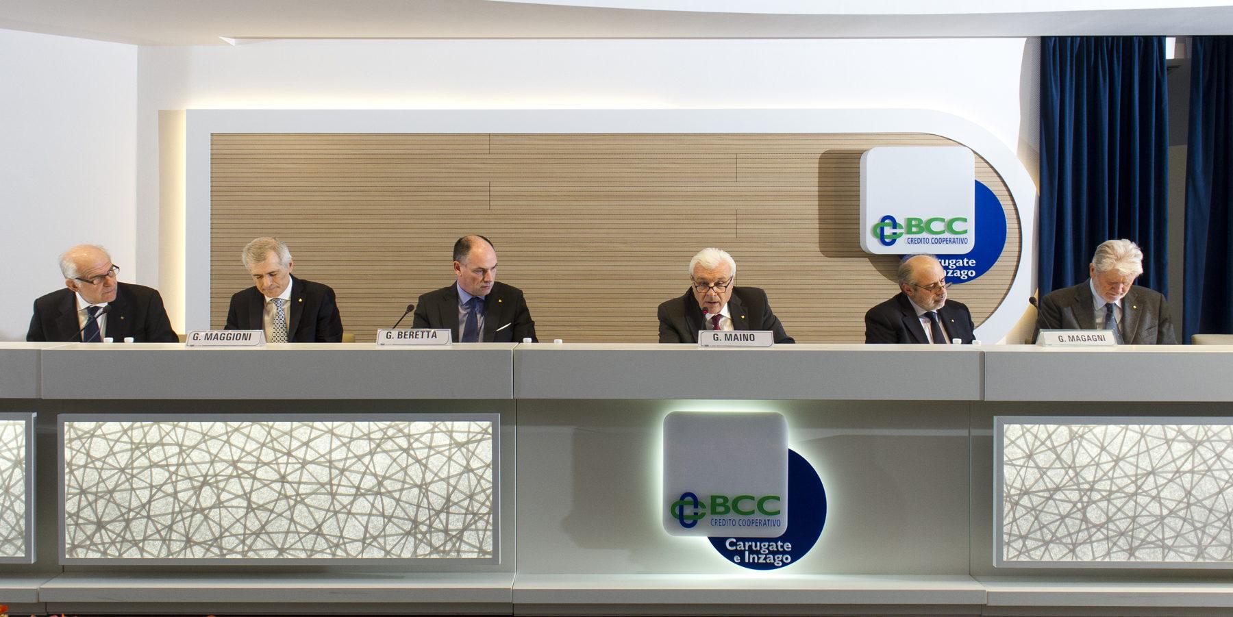 BCC Carugate Inzago: l'Assemblea dei Soci approva il Bilancio 2015