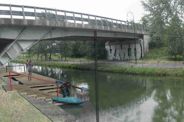 Si inaugura il campo scuola per canoe