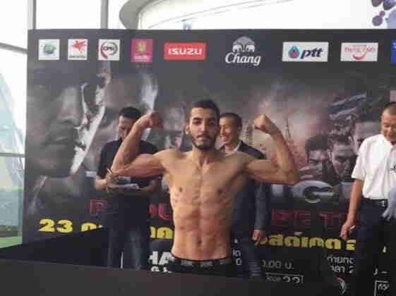 Il sestese Anouar Khamlali sul ring 'mondiale' di Bangkok