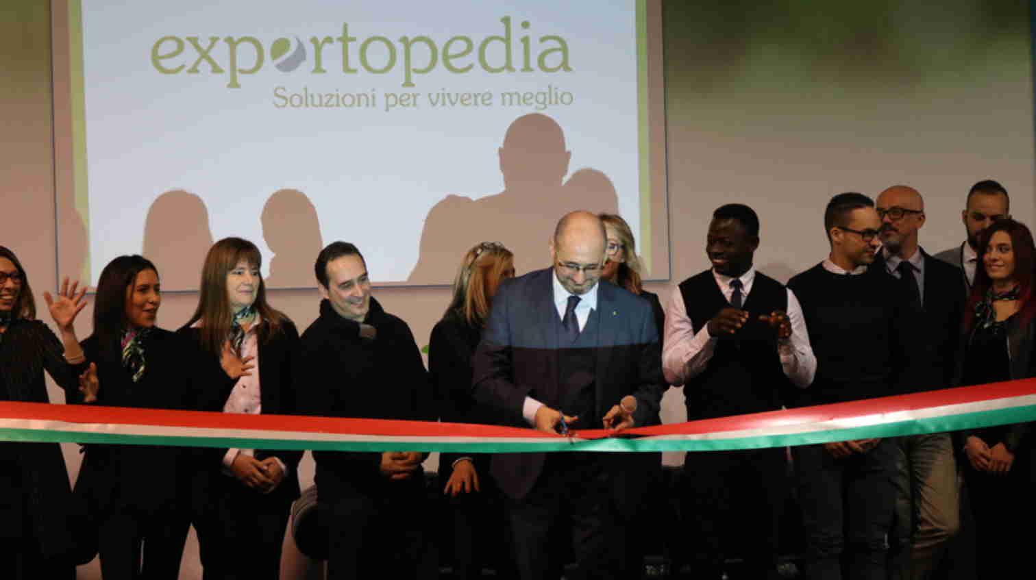 Exportopedia, grande successo per l'inaugurazione