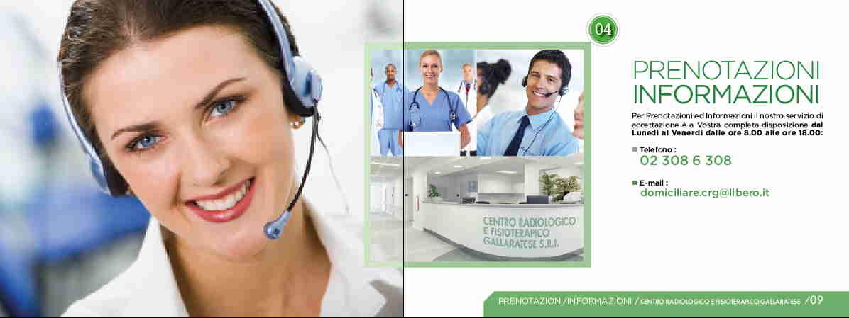 Diagnostica per immagini e terapia fisica direttamente a casa tua