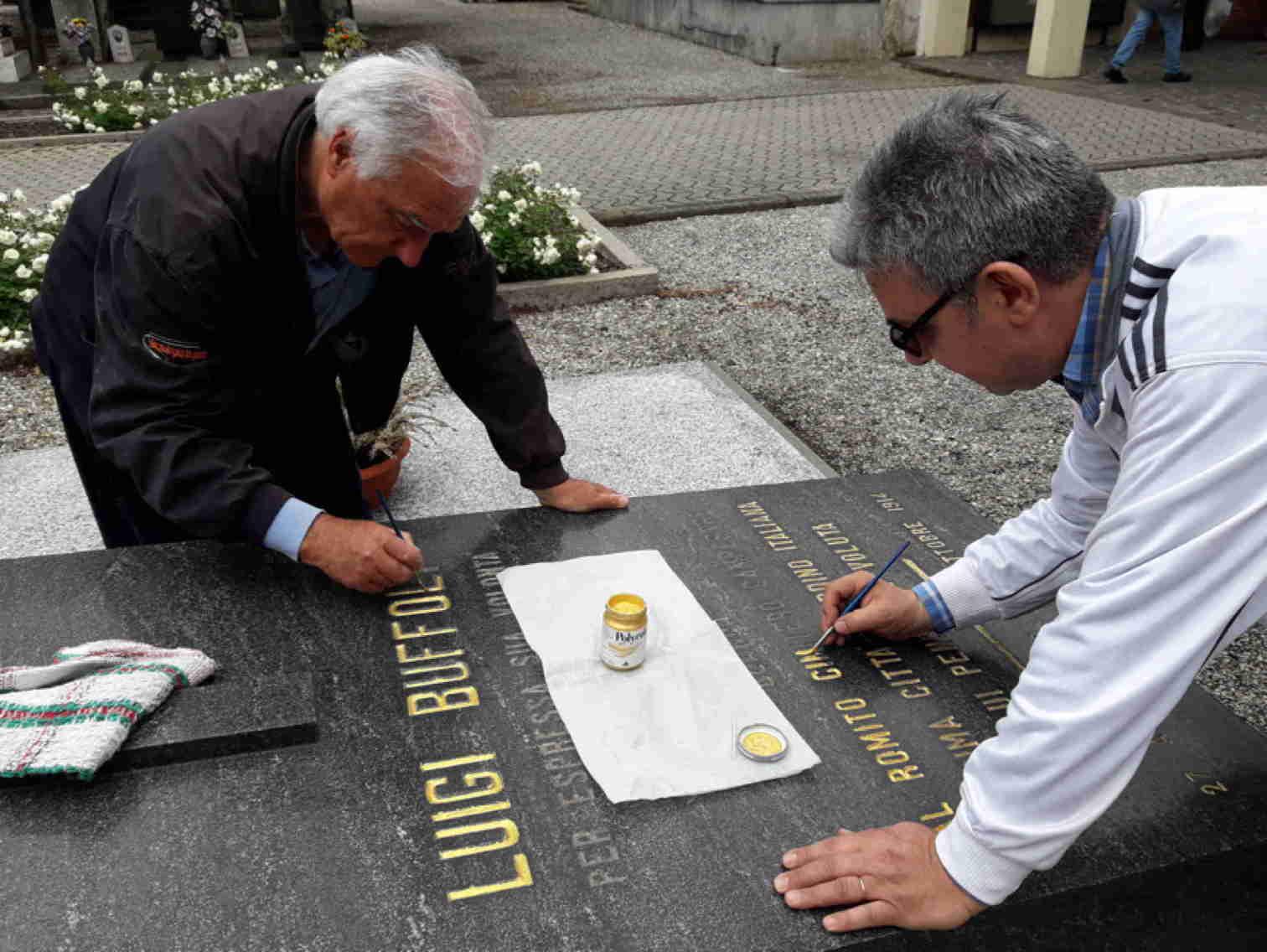 Mantenuta la promessa a Luigi Buffoli