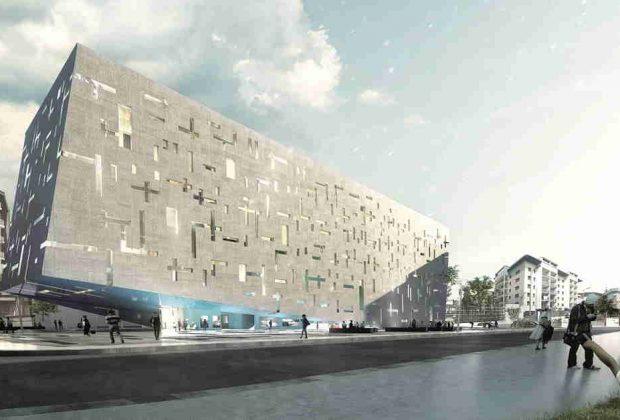 La nuova sede di Gruppo CAP, a forma di arca e a bassissimo impatto ambientale