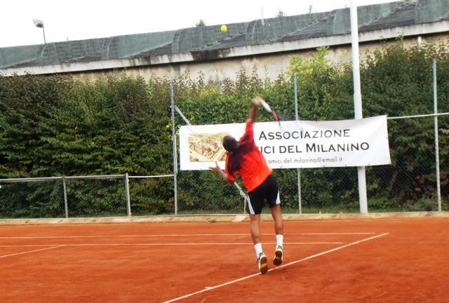 Partito il torneo di tennis degli Amici del Milanino