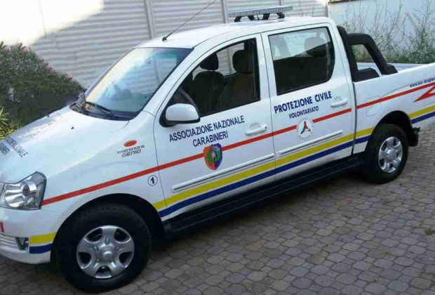 Protezione Civile: nuovo mezzo operativo e inizio dei corsi
