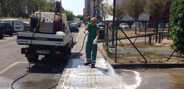 Crocetta, nuovi interventi di igiene urbana