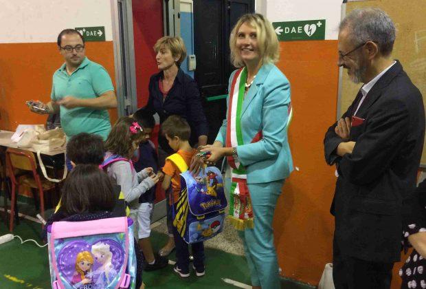 La Giunta in visita alle scuole per un augurare un buon inizio d'anno
