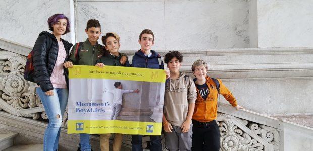 """La Bachelet premiata a Napoli per """"Le scuole adottano i monumenti d'Italia"""""""