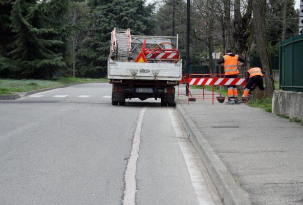 Scavi per la fibra ottica: conclusi gli interventi verrà ripristinato l'asfalto