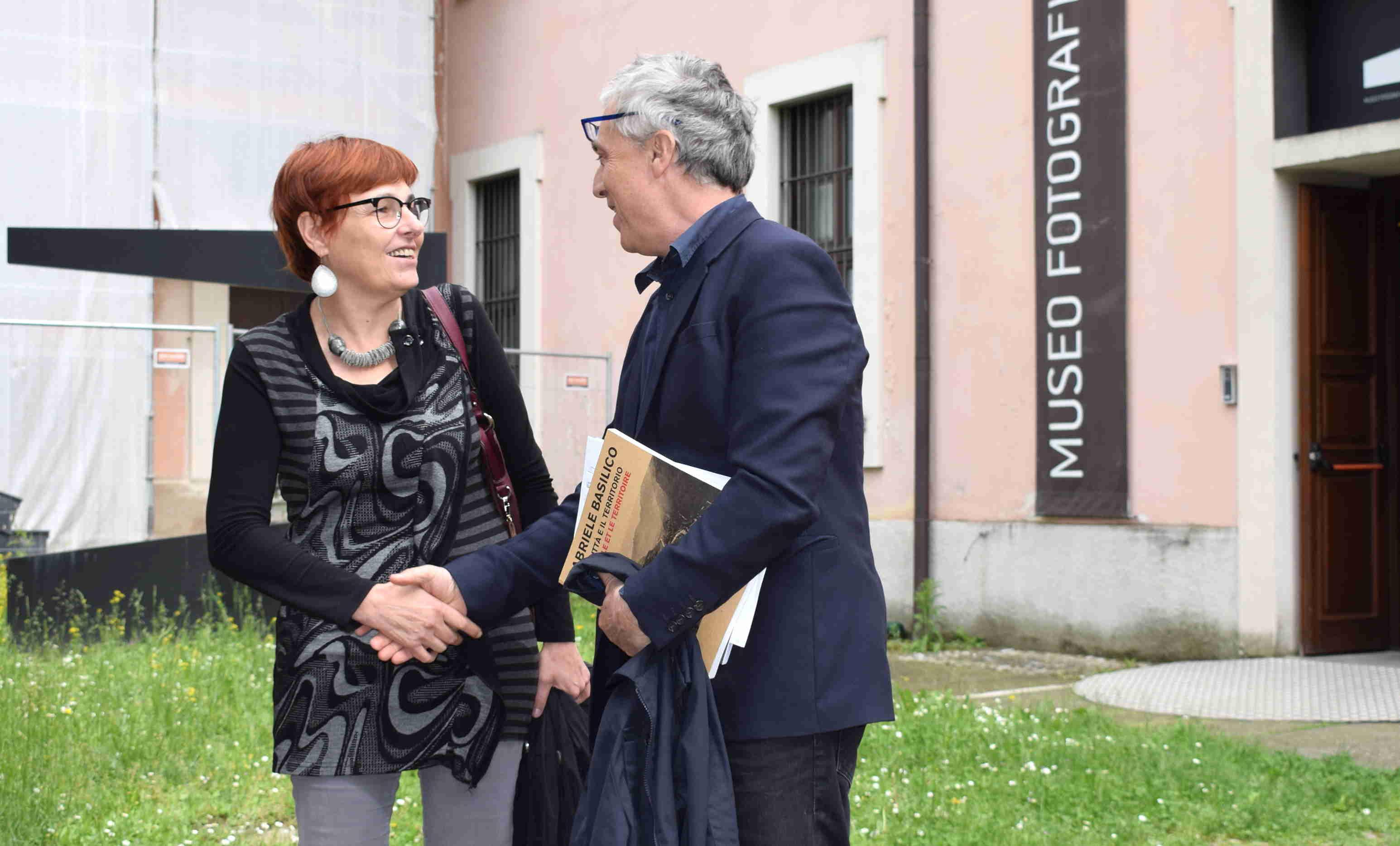 Stefano Boeri in visita al MuFoCo