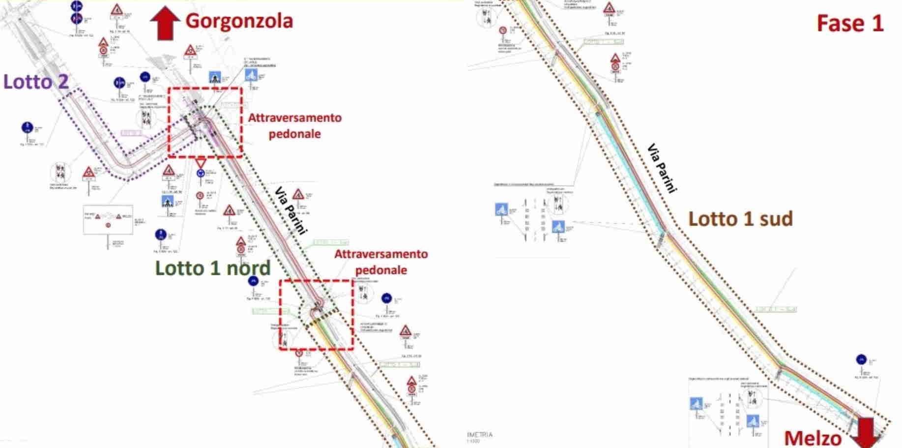 Al via i lavori per la pista ciclabile Gorgonzola-Melzo