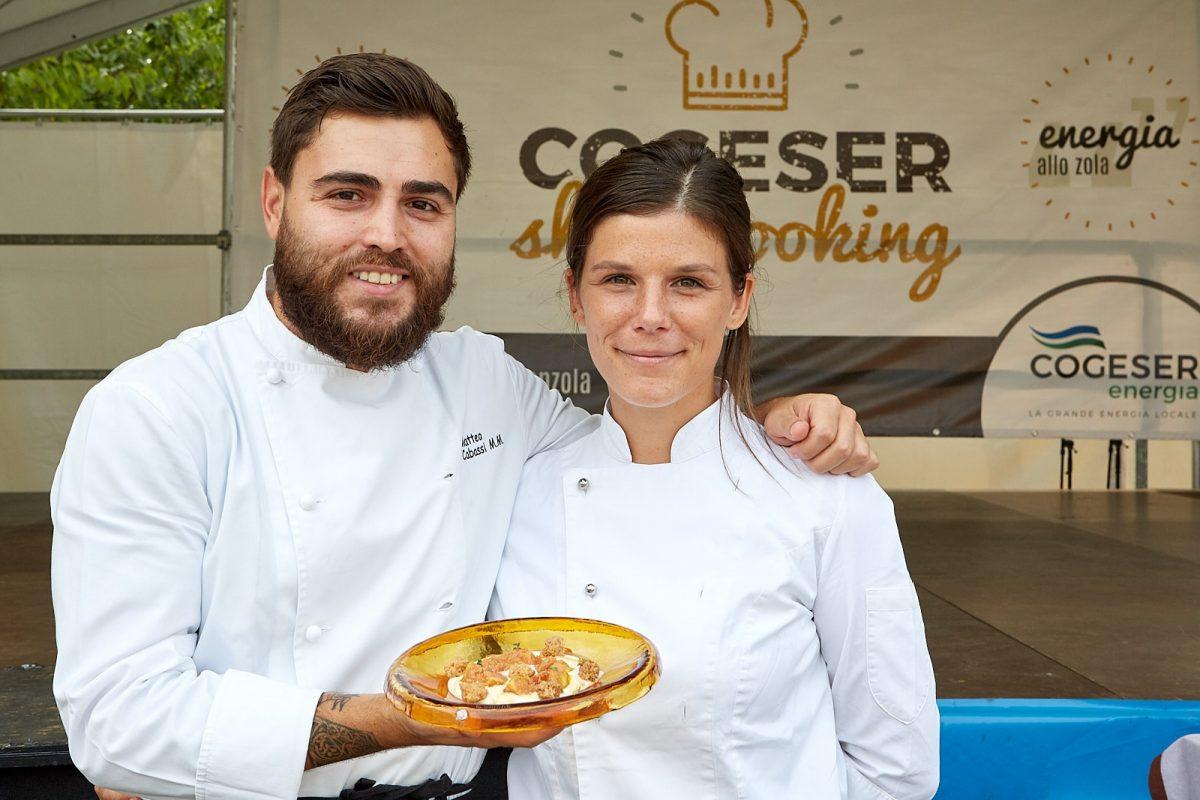 Sagra del gorgonzola 2018: centinaia di spettatori per il Cogeser Show Cooking
