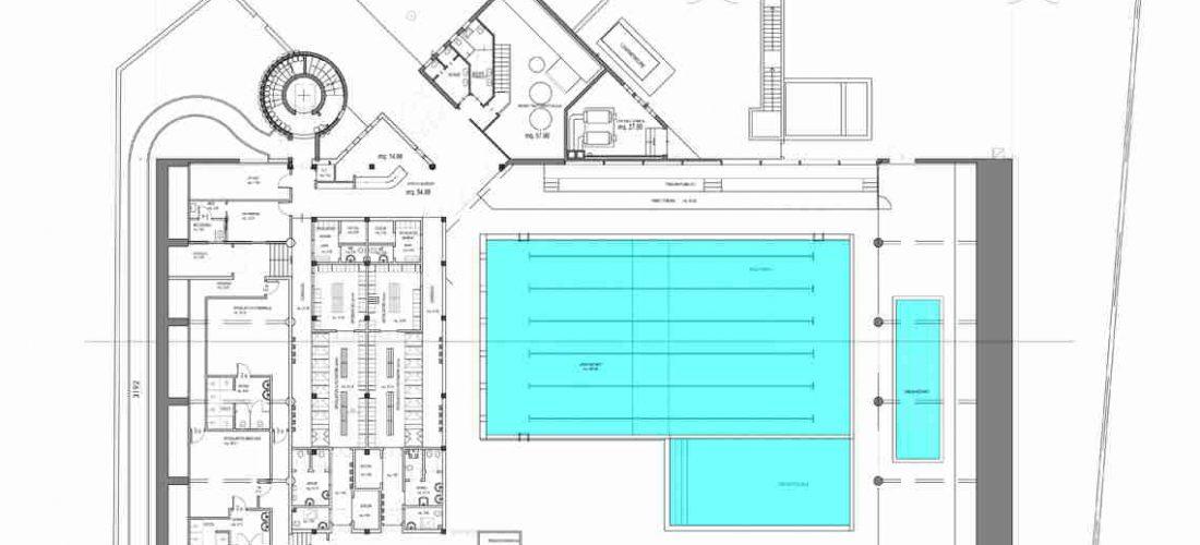 Piscina comunale, al via l'ampliamento degli spazi interni e la costruzione delle nuove vasche all'aperto