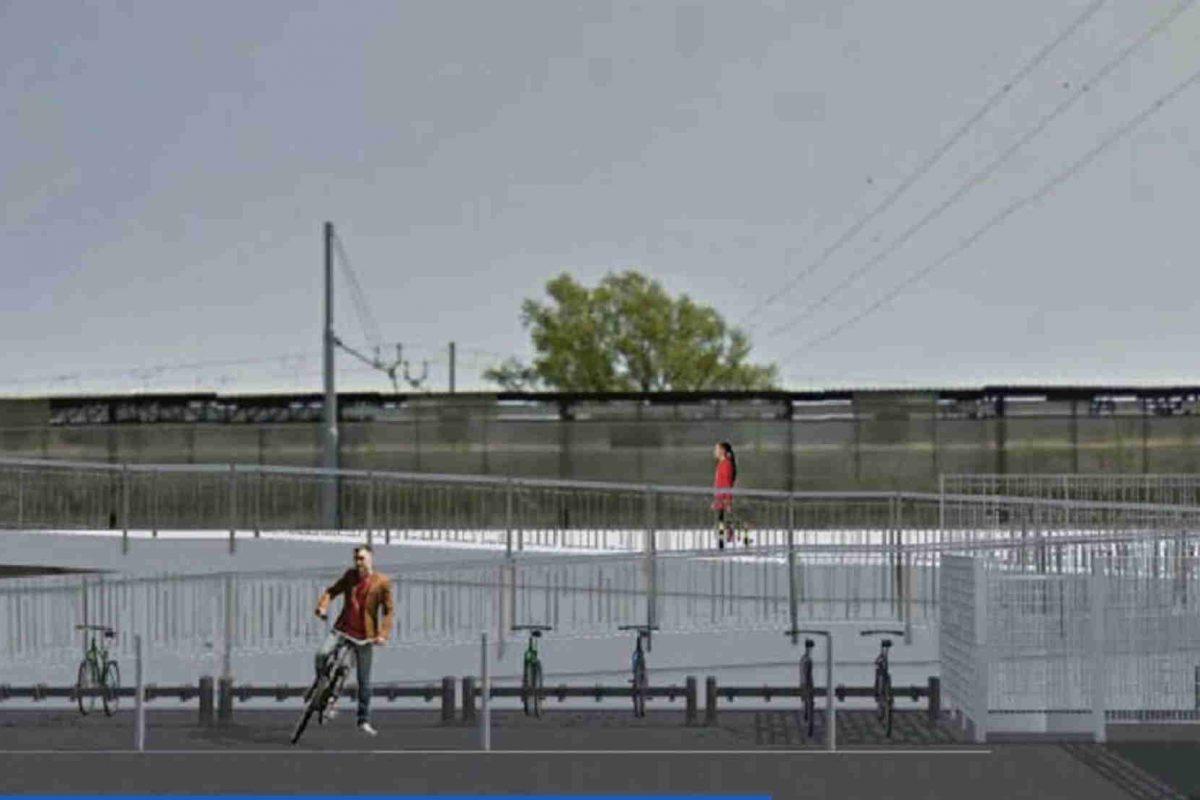 Al via i lavori per l'abbattimento delle barriere architettoniche e la realizzazione della ciclo officina alla stazione MM2