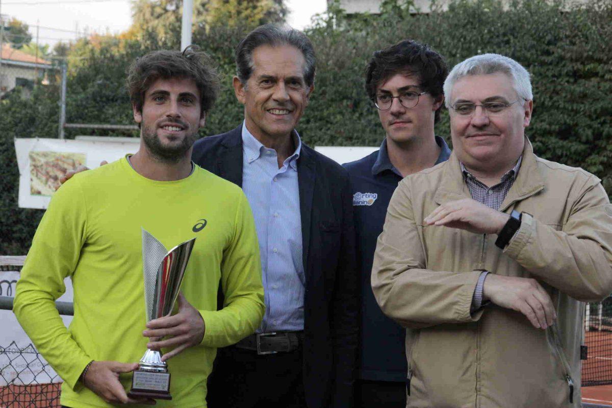 Grande Tennis sui campi dello Sporting per il Torneo degli Amici del Milanino