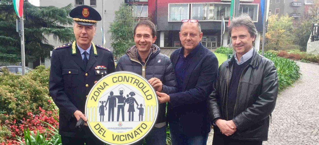 Installato il primo cartello CONTROLLO DEL VICINATO