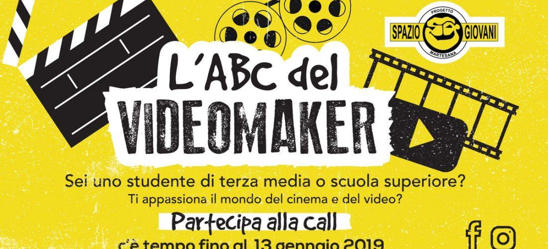 Spazio Giovani Martesana lancia l'ABC del VideoMaker