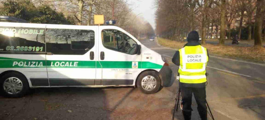 Diminuiscono gli incidenti sulle strade di Segrate: nel 2018 il 20% in meno