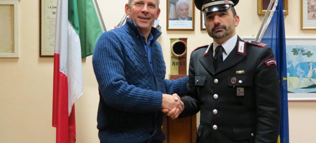Nuovo sportello di ascolto: i Carabinieri saranno in Comune