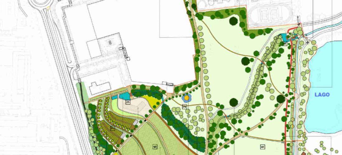 Prende forma il Nuovo Centroparco: più verde, più accessibile, più bello