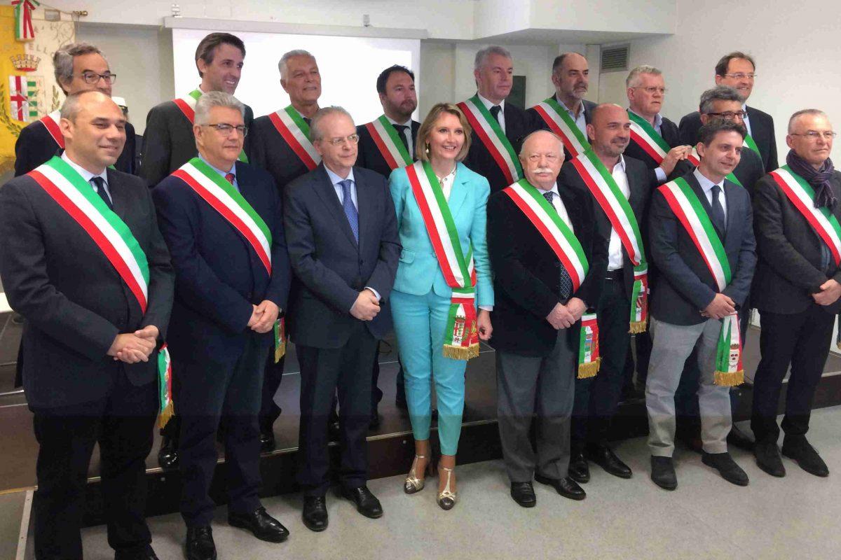 Alla presenza del Prefetto Saccone, 22 Comuni dell'Adda Martesana firmano il Patto per la Sicurezza