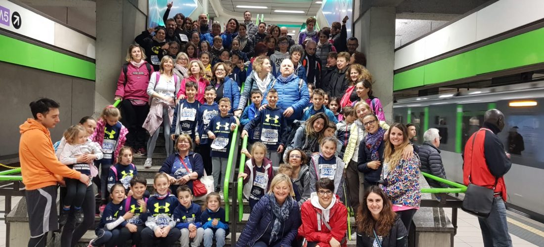 L'I.C. Montegrappa alla Bridgestone School Marathone a City Life