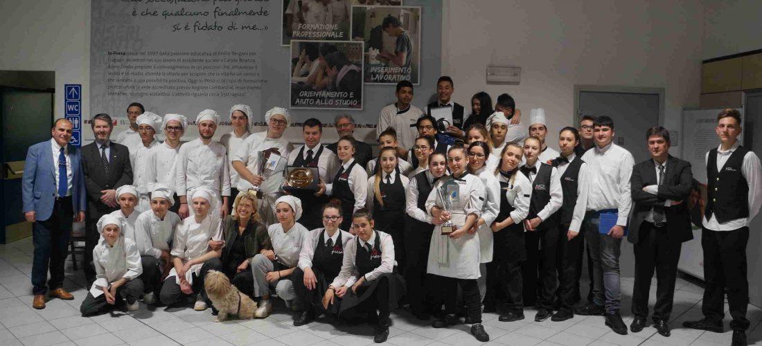 Nuovi Talenti in cucina: anche gli allievi dell'Istituto Mazzini alla sfida culinaria organizzata dal Rotary