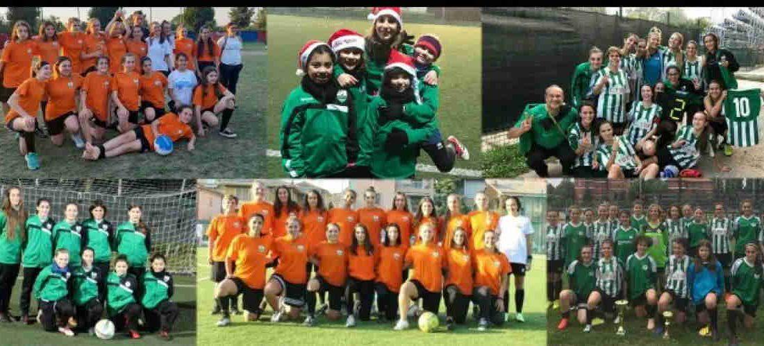 Bresso, boom del calcio femminile:sono 53 le ragazze iscritte al Circolo Giovanile