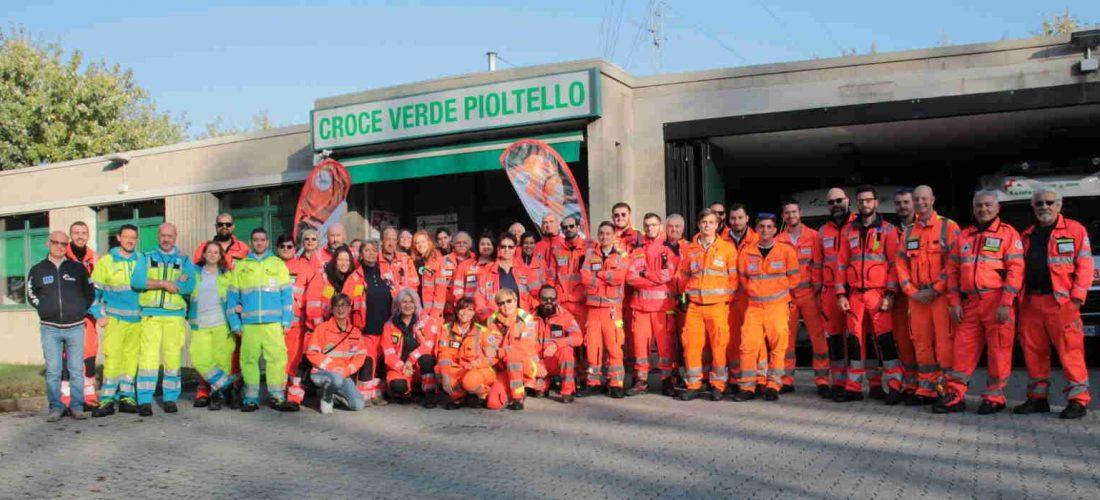 Grande festa per i 45 anni della Croce Verde di Pioltello