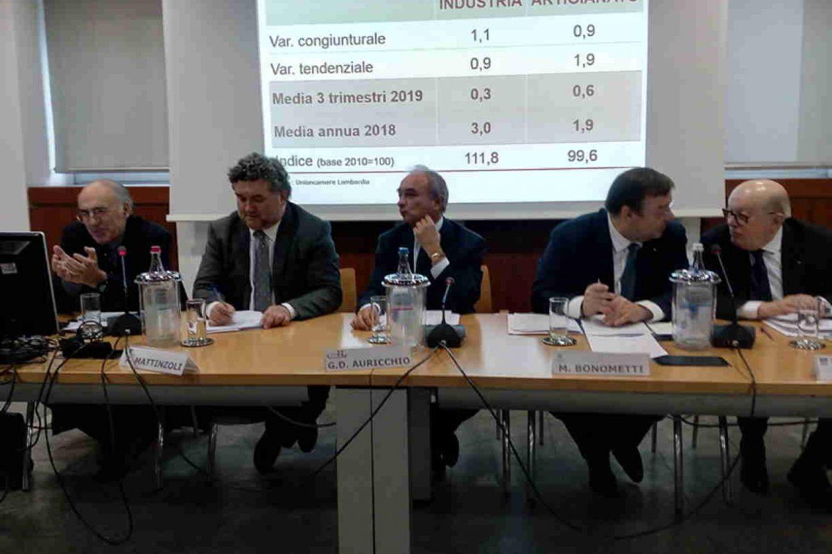 Industria e artigianato manifatturiero al terzo trimestre 2019: a Milano tutti positivi i valori