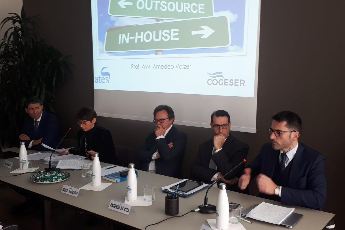 Un interessante convegno organizzato da ATES e COGESER sul tema delle Società In House