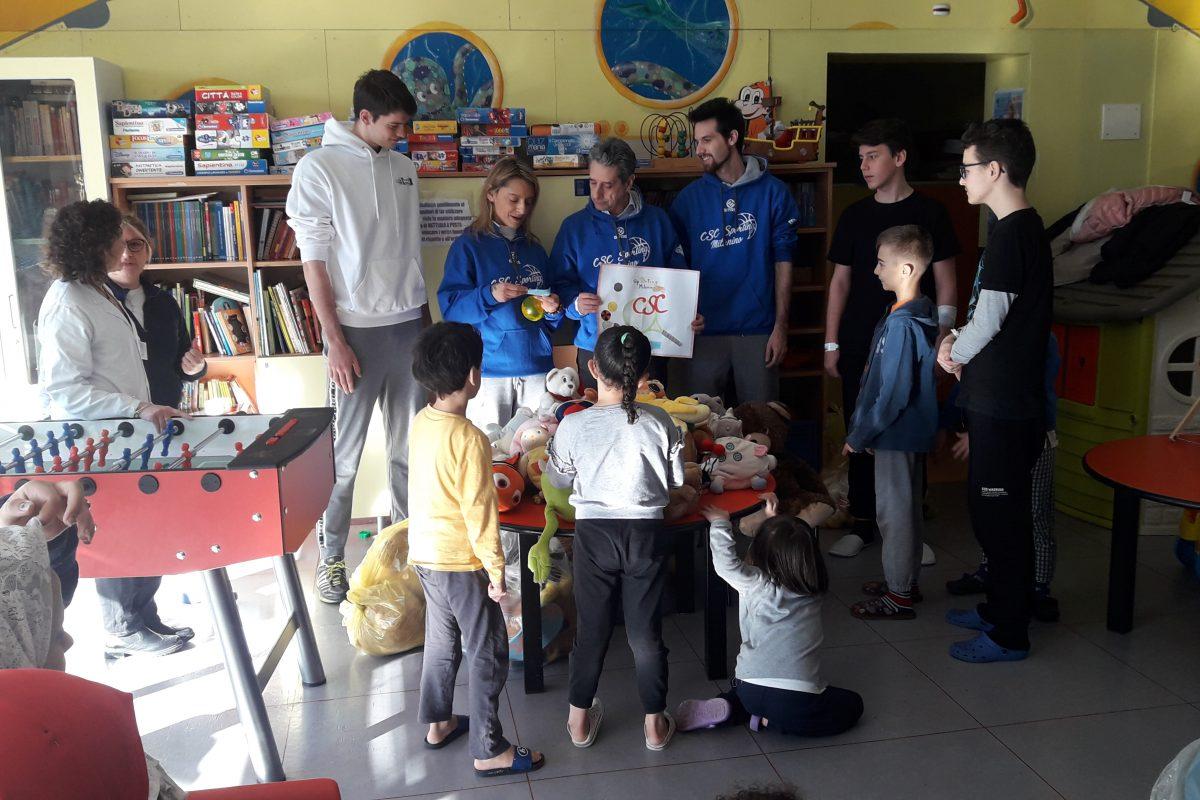 Reparto Pediatrico del Bassini in festa, per la seconda edizione del Teddy Bear Toss