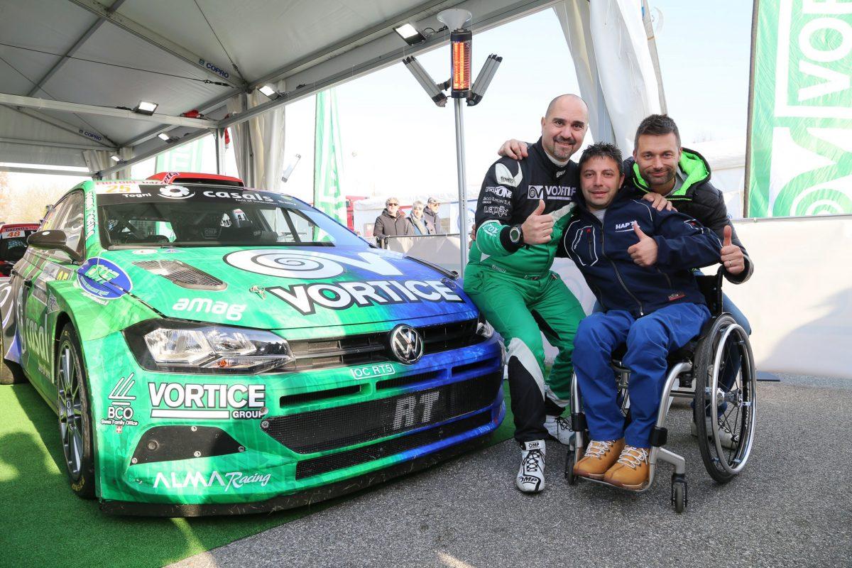 VORTICE per uno sport senza barriere: al Monza Rally Show presentato un avveniristico simulatore di guida per disabili