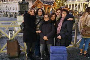 Anche quest'anno le mamme sestesi a Roma per la Calza della Befana