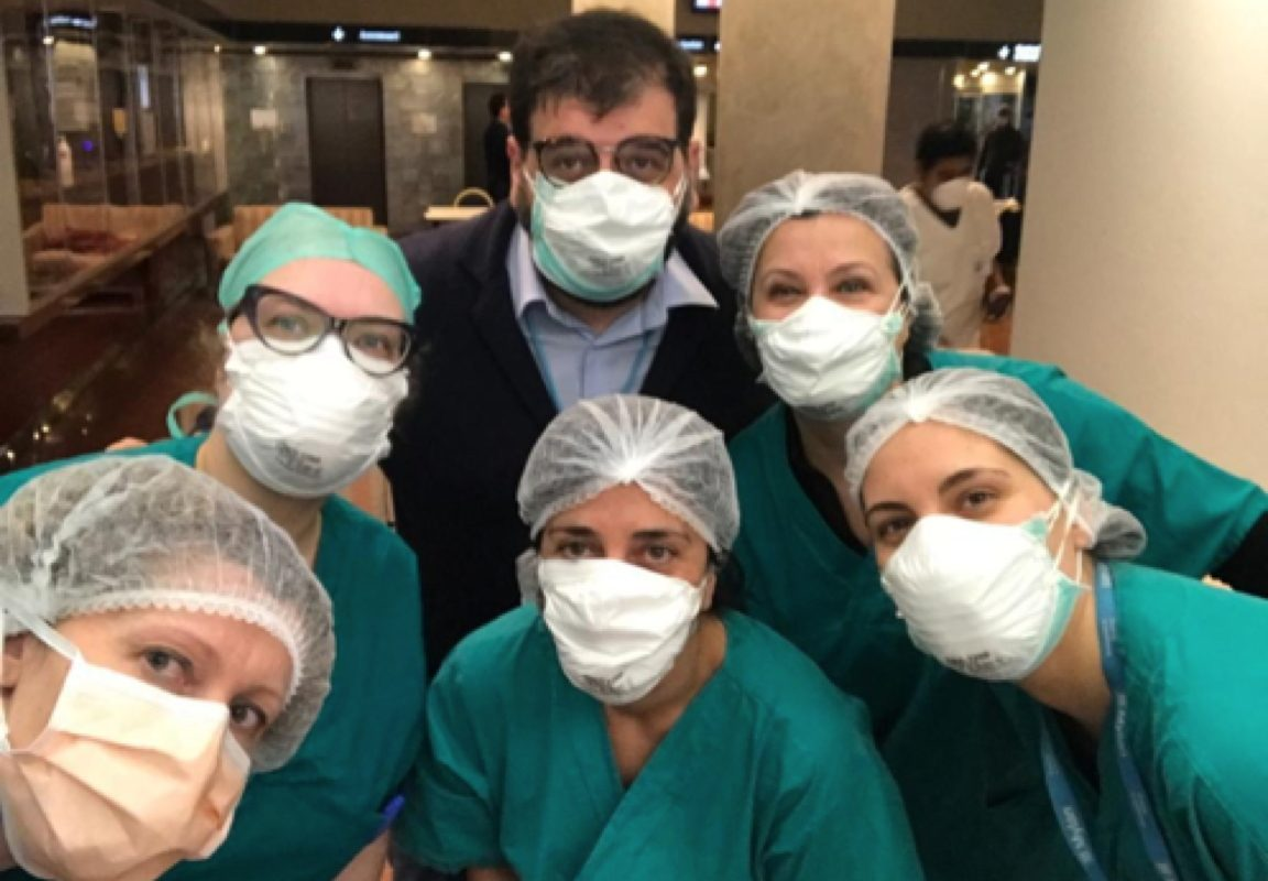 Coronavirus: 40 operatori sanitari di ASST Nord Milano si alternano all'Hotel Michelangelo per garantire assistenza