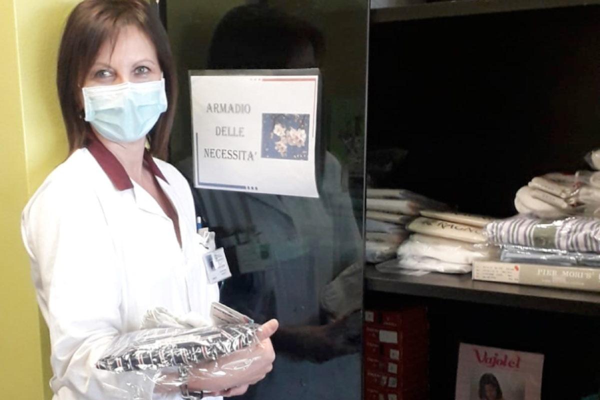 Nei reparti degli ospedali di Sesto e Cinisello Balsamo arrivano gli armadi dei pigiami