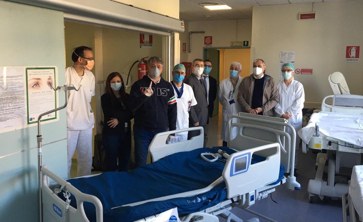 Sono arrivati i letti di terapia intensiva donati da Avis Cernusco all'Uboldo