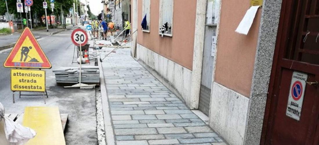 Via XI Febbraio e via della Repubblica: ripartono i lavori di riqualificazione