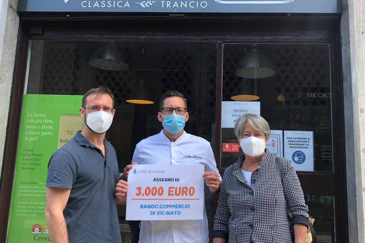 Bando Commercio di vicinato: i negozianti premiati con un contributo di 3000 €