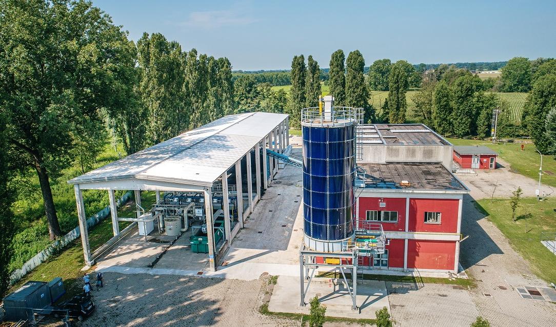 Gruppo CAP primo in Europa a sperimentare il processo di bioessicamento dei fanghi di depurazione