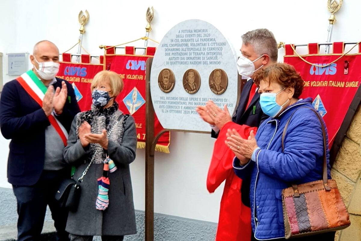 Una festa sobria per i 65 anni di AVIS Cernusco