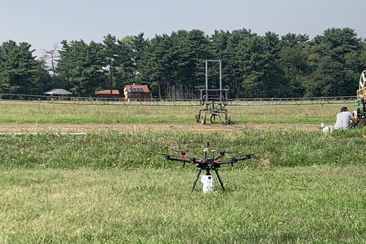 Nuova sperimentazione per Gruppo CAP: il drone che analizza i nutrienti del suolo, preservando la qualità dell'acqua della falda